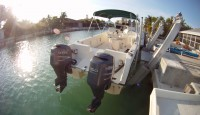 25' Sea Cat With Twin Yamaha 150 4 Strokes