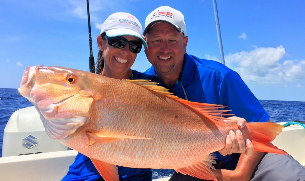 large Mutton Snapper