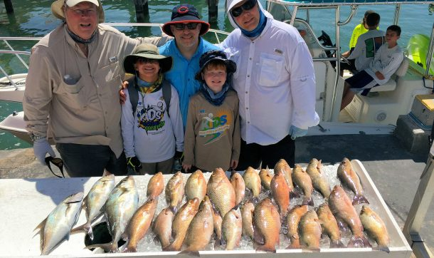 An exceptional reef catch for the boys trip