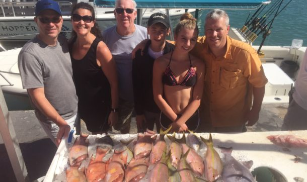 An outstanding patch reef catch for this family